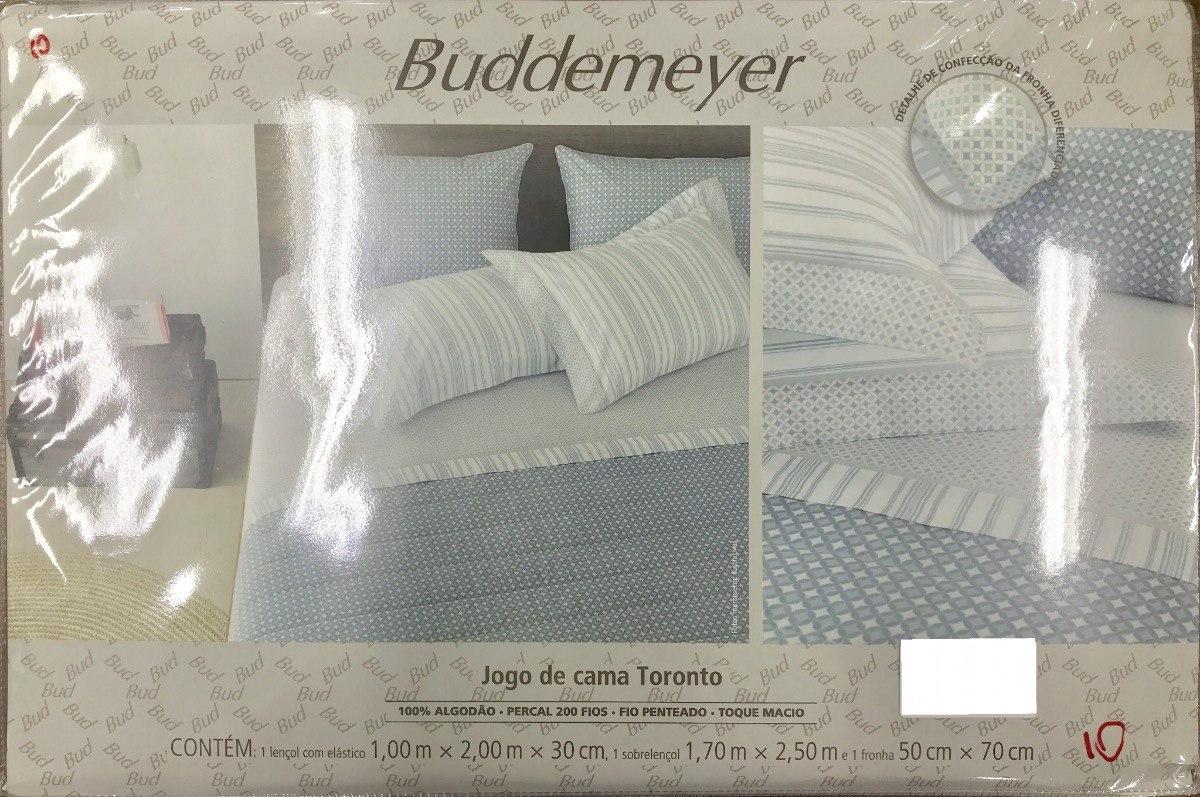 1db8cbe7cd jogo lençol cama solteiro toronto 3 pç buddemeyer. Carregando zoom.