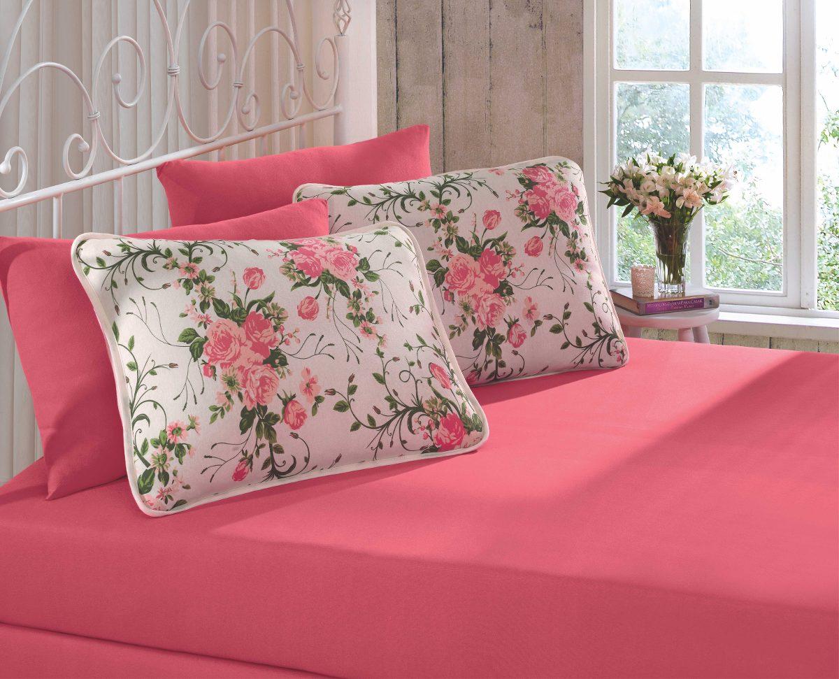 3ca27a878 jogo lençol casal 3 peças para cama malha 100% algodão. Carregando zoom.