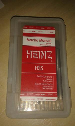 jogo macho heinz m12 x 1,75 mrh-053-l28/08/13 c/3pçs ok