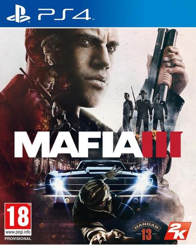 jogo mafia 3 iii playstation 4 ps4 mídia física frete grátis
