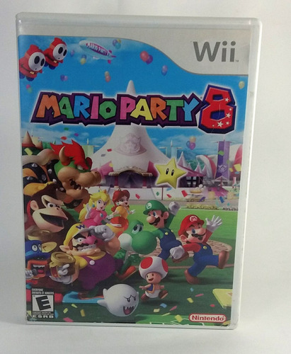 jogo mario party 8 nintendo wii