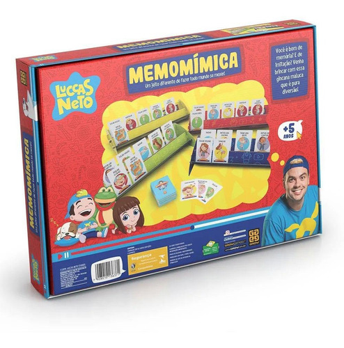 jogo - memomímica - luccas neto - grow