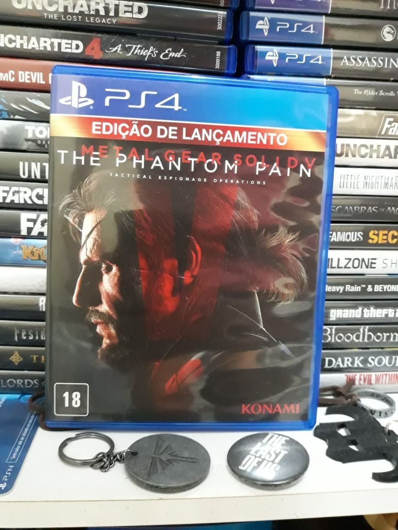 799ce21293 Jogo Metal Gear Solid 5 Phantom Pain Playstation 4 Seminovo - R  69 ...