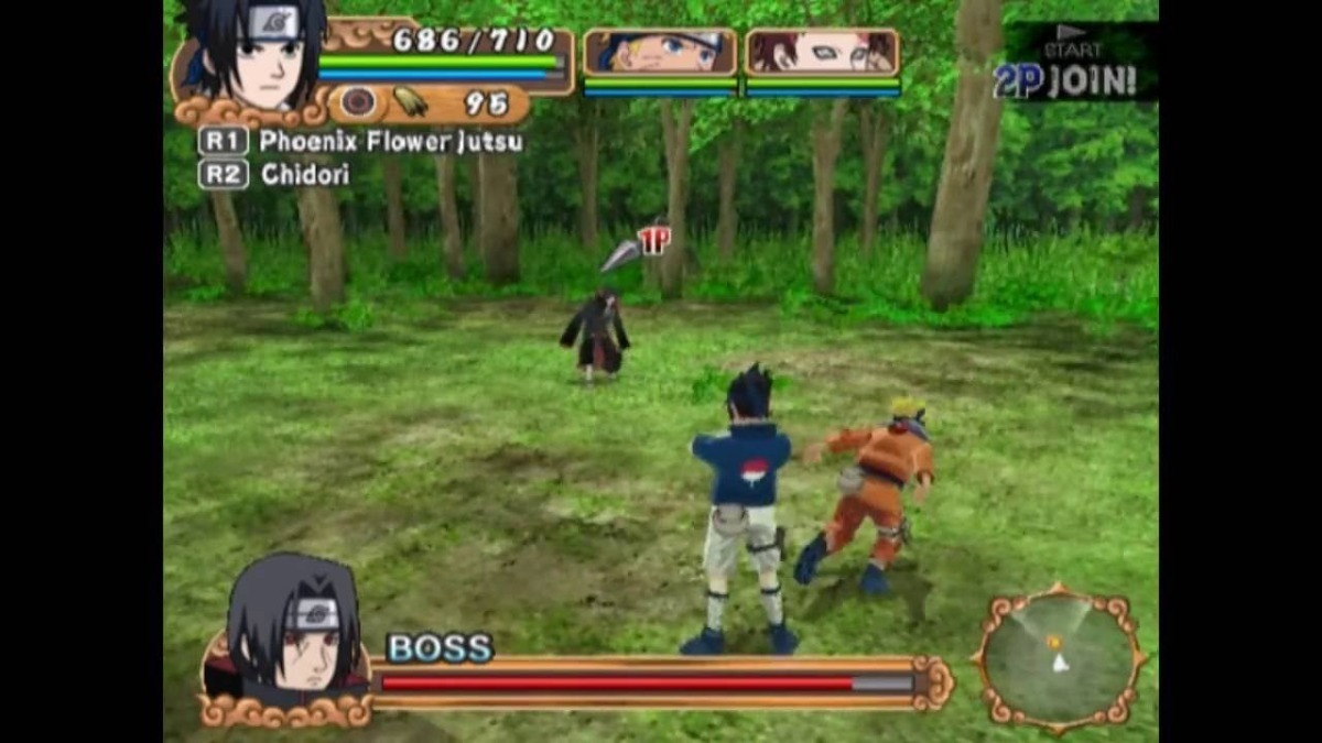 7b55c8a8f58 Jogo Mídia Física Naruto Uzumaki Chronicles 2 Original Ps2 - R$ 219 ...