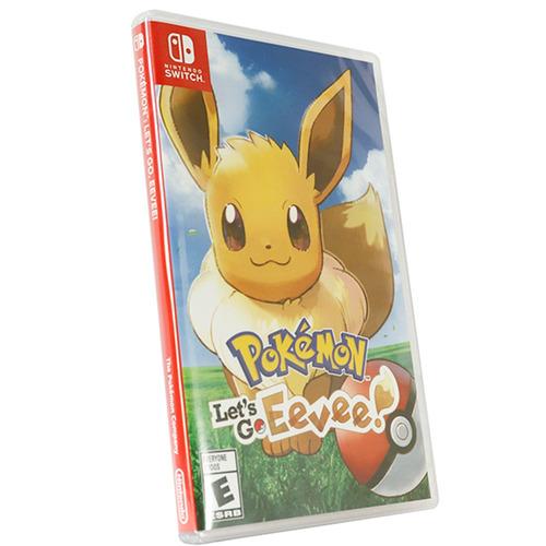 jogo midia fisica nintendo switch pokemon lets go eevee novo