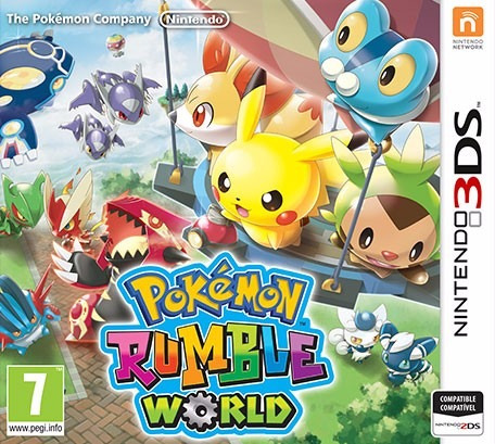 jogo mídia física pokemon rumble world para nintendo 3ds
