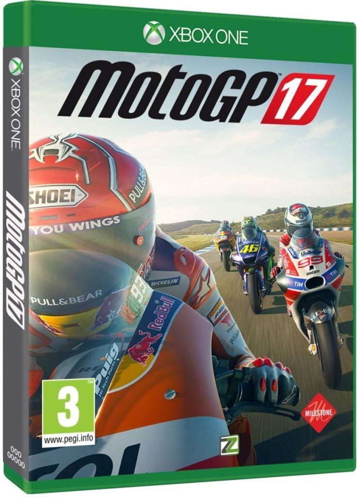 Jogo Motogp 17 Xbox One Midia Fisica Cd Original Lacrado Br