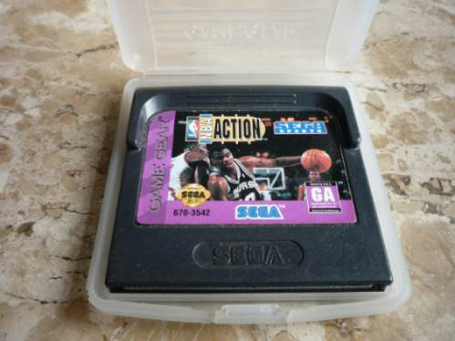 jogo nba action - gamegear