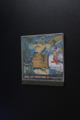 jogo neo geo cd - art of fighter 2