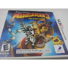 Jogo Nintendo 3ds Madagascar 3