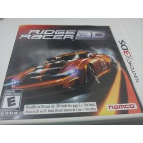 Jogo Nintendo 3ds Ridge Racer 3d