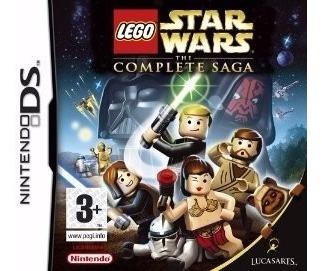 jogo nintendo ds lego star wars the complete saga