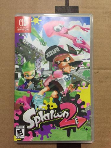 jogo nintendo switch splatton 2