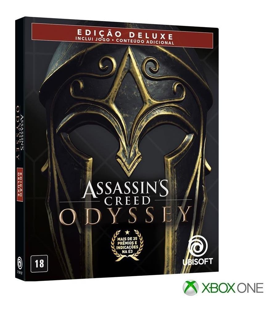 Assassins Creed Odyssey  EDIÇÃO DELUXE - Xbox One
