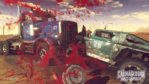jogo novo lacrado carmageddon max damage para playstation