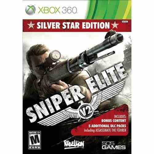 jogo novo sniper elite v2 silver star edition xbox 360