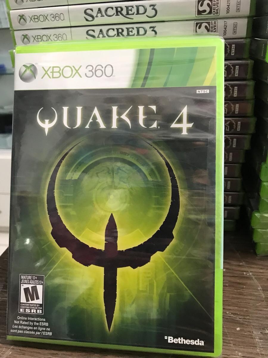 Jogo Original Xbox 360 Quake 4 Lacrado Nota Fiscal Eletronic
