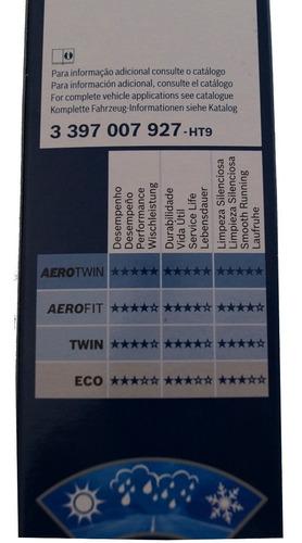 jogo palheta limpador bosch aerofit nissan x-trail 2002/