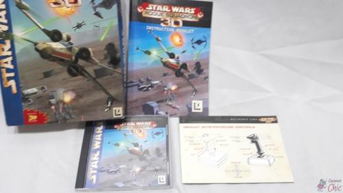 Jogo Para Pc Star Wars Rogue Squadron 3d Cchic #