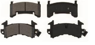 jogo pastilha de freio dianteiro chevrolet blazer - 6053