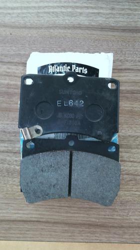 jogo pastilha de freio dianteiro mazda 323 89/03 original