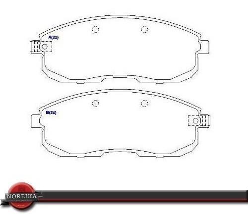 jogo pastilha freio dianteira suzuki sx4 09/... hq-2223a