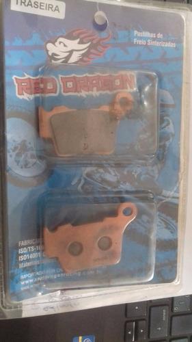 jogo pastilha freio traseiro ktm exc/sx 125 2004 a 2011
