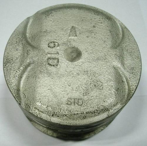 jogo pistão std c/anéis elantra 1.6 16v motor g4cr 92 à 96