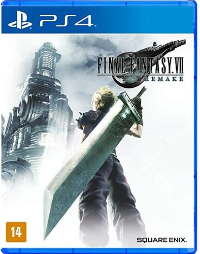 jogo playstation 4 final fantasy vii  remake