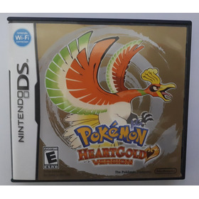 Jogo Pokémon Heartgold - Nintendo Ds Original Usado