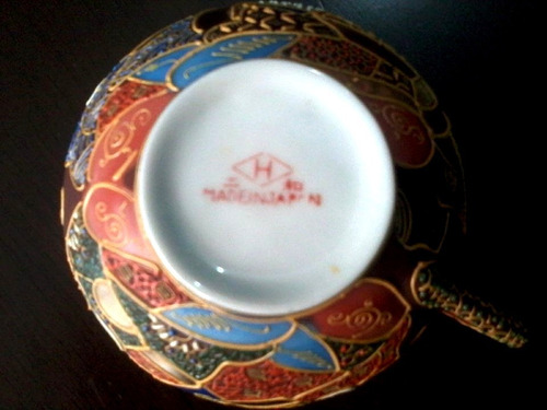jogo porcelana japonesa casca de ovo dragão satsuma antigo