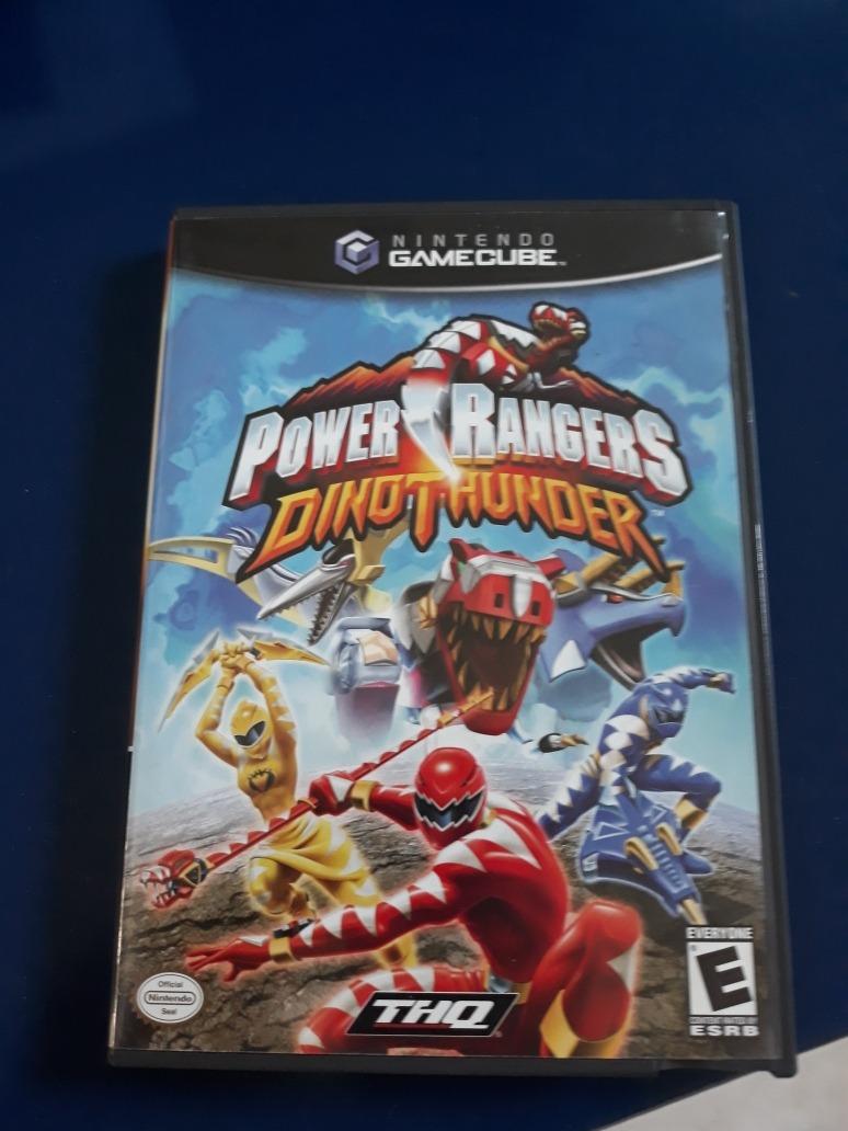 Jogo Power Rangers Dino Thunder Nintendo Gamecube R 68 00 Em