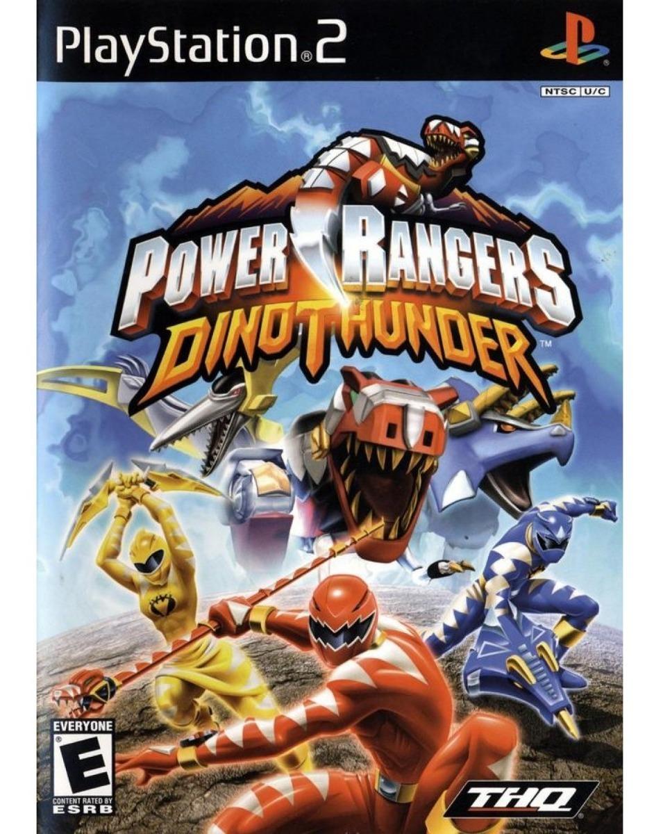 Jogo Power Rangers Dino Thunder Usado Ps2 Original R 59 90