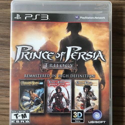 jogo prince of persia trilogy - ps3 - seminovo mídia física