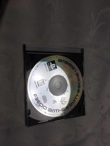 jogo ps1 f3600 anti-gravit league  somente o disco tudo ok