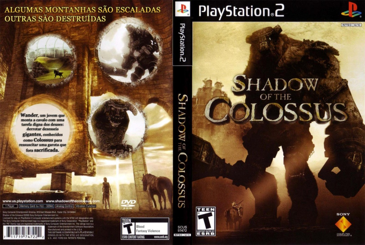 shadow of the colossus ps2 portugues