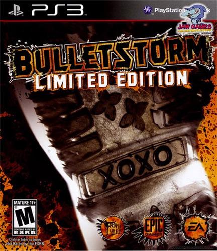 jogo ps3 - bulletstorm - usado ( frete r$ 9,90 )
