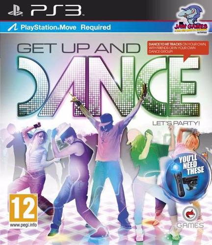 jogo ps3 - get up and dance - novo ( frete r$ 9,90 )