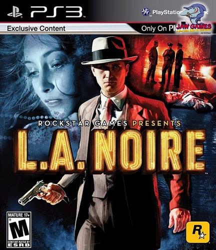 jogo ps3 - l.a. noire  - novo ( frete r$ 9,90 )