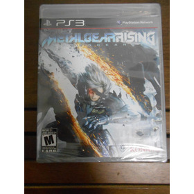 Jogo Ps3 Metal Gear Rising Lacrado