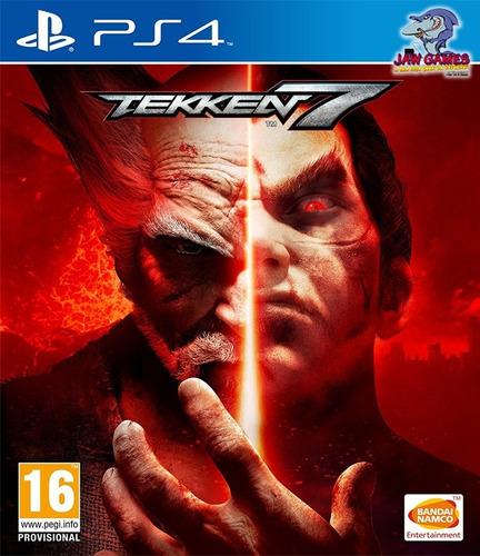 jogo ps4 - tekken 7 - novo ( mídia física )