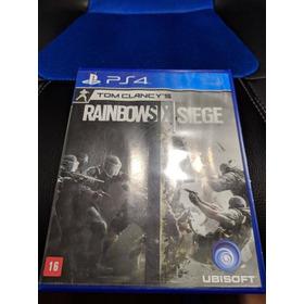 Jogo Ps4 Tom Clancys Rainbow Six Siege Usado