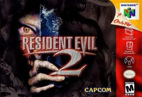 Resident Evil 2 64-melhor jogo de terror do n64-top game 64