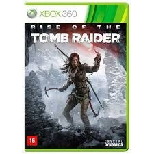 jogo rise of the tomb raider xbox 360 português midia fisica