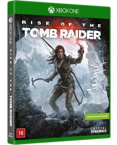 jogo rise of the tomb raider - xbox one - mídia física