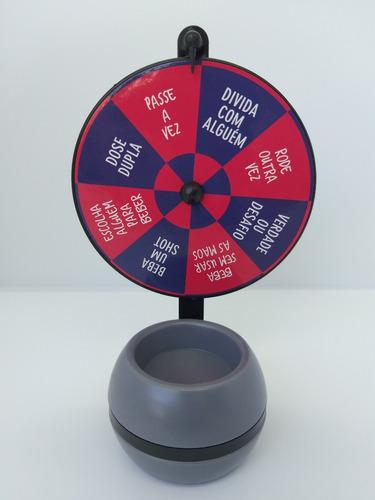 jogo roda shot 2 pçs roleta p/ jogar com amigos