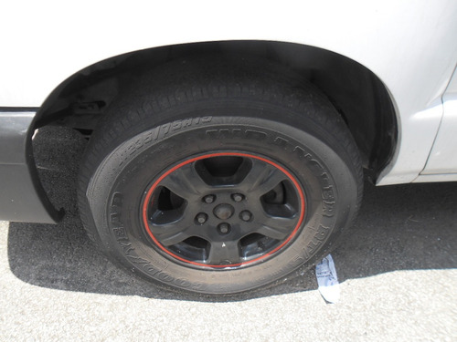 jogo rodas s10 aro15 montada com pneus somente o jogo c/4ud