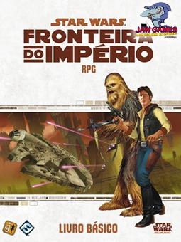 jogo rpg - livro basico - star wars fronteira do império