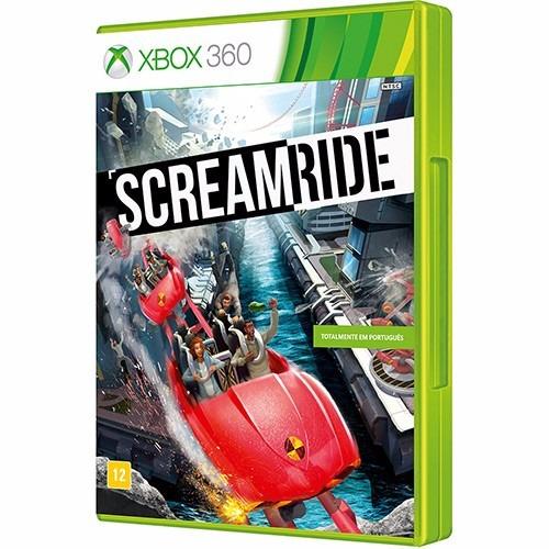 jogo screamride xbox 360 - totalmente em português
