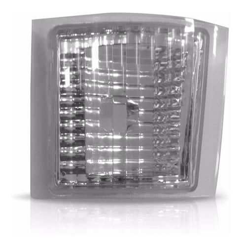 jogo sinaleira do farol silverado  cristal completo 04 peças